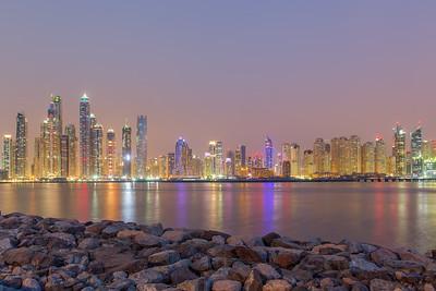 Skyline Dubai Marina