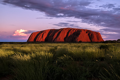 Sunset at Ayers Rock