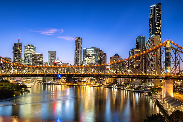 Brisbane at Blue Hour