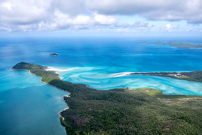 The Amazing view over Whiteheaven Beach