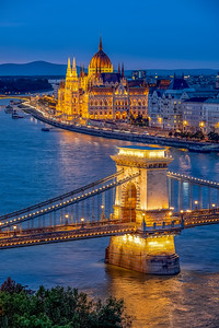 Budapest during Blue Hour