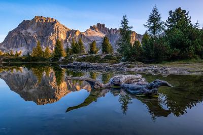 Morning Light at Lago di Limides