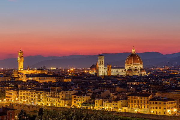 Epic Sunset in Florence