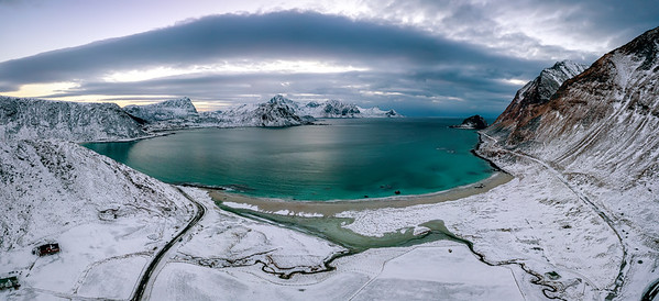 The amazing Haukland Beach