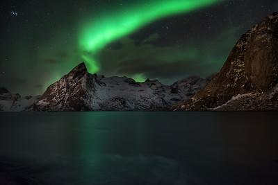 Aurora Borealis in Hamnøy