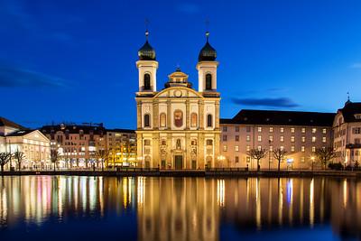 Jesuiten Kirche Lucerne