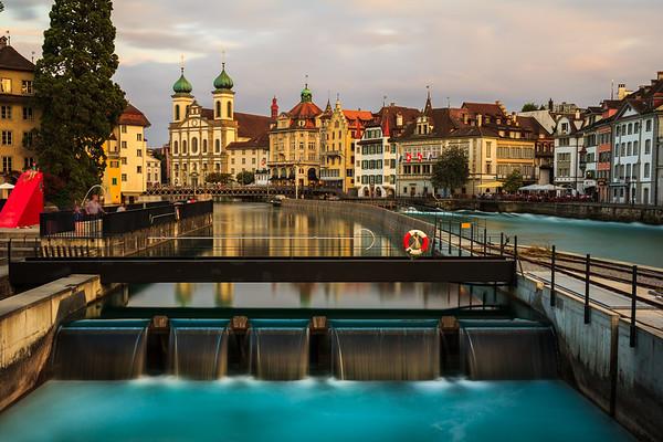 Reuss Lucerne