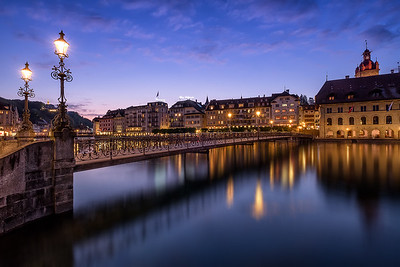 Lucerne during Twilight