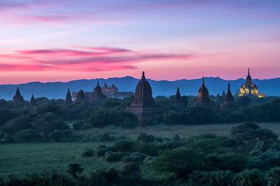 Late Sunset in Bagan