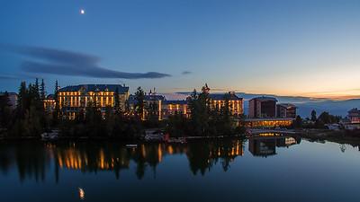 Aerial view Hotel Kempinski - Štrbské Pleso