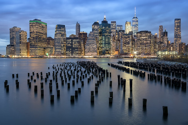 Twilight in New York