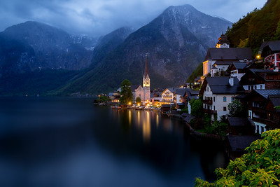 Hallstatt during Twilight