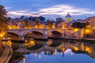 Rome during Twilight