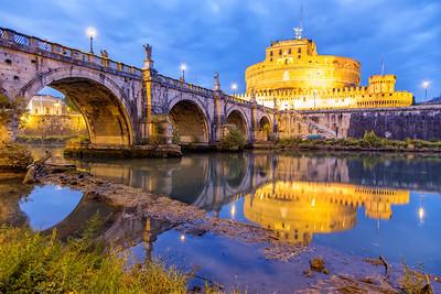 Ponte Sant Angelo in Rome