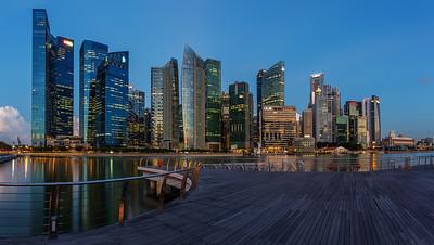FInance District Singapore