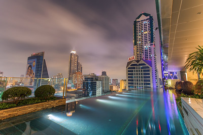 Pool view at Eastin Grand Hotel