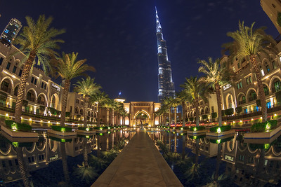 Burj Khalifa and the Palace