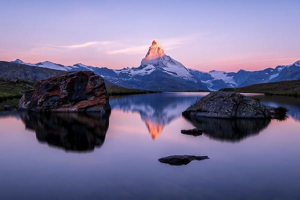 Sunrise at Mt. Matterhorn