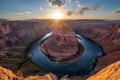 Sunset at Horse Bend