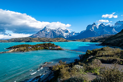 Beatiful Day at Torres del Paine