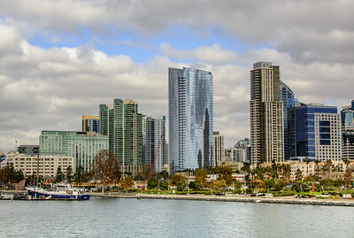 Hotels and Condos by the Embarcadero
