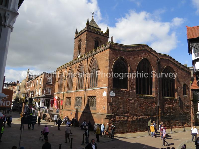 St Peter's Church: Eastgate Street / Watergate Street