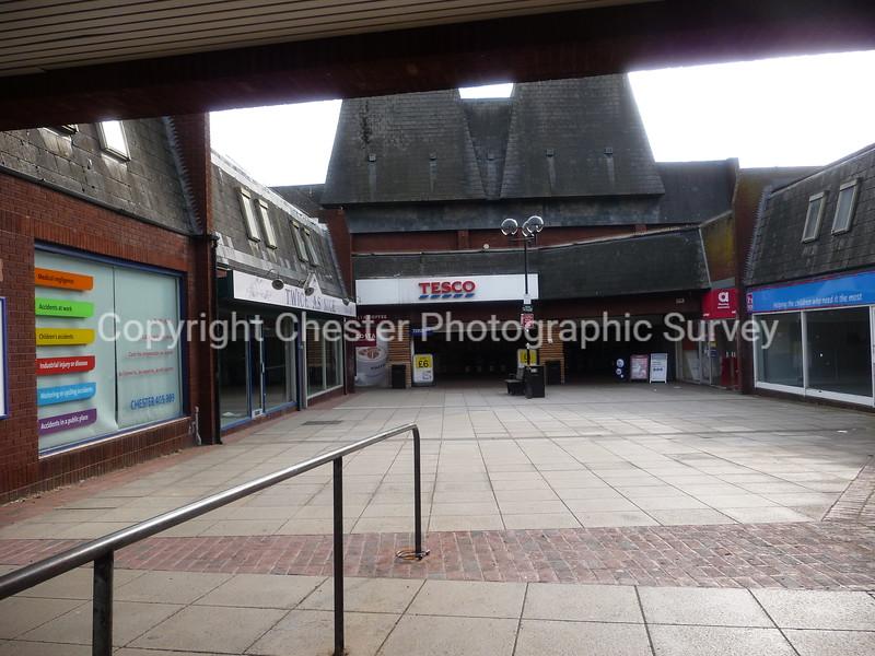Tesco and Frodsham Shopping Mall