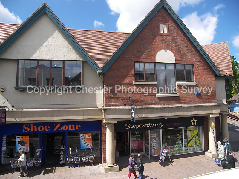 Superdrug and Shoezone: Frodsham Street