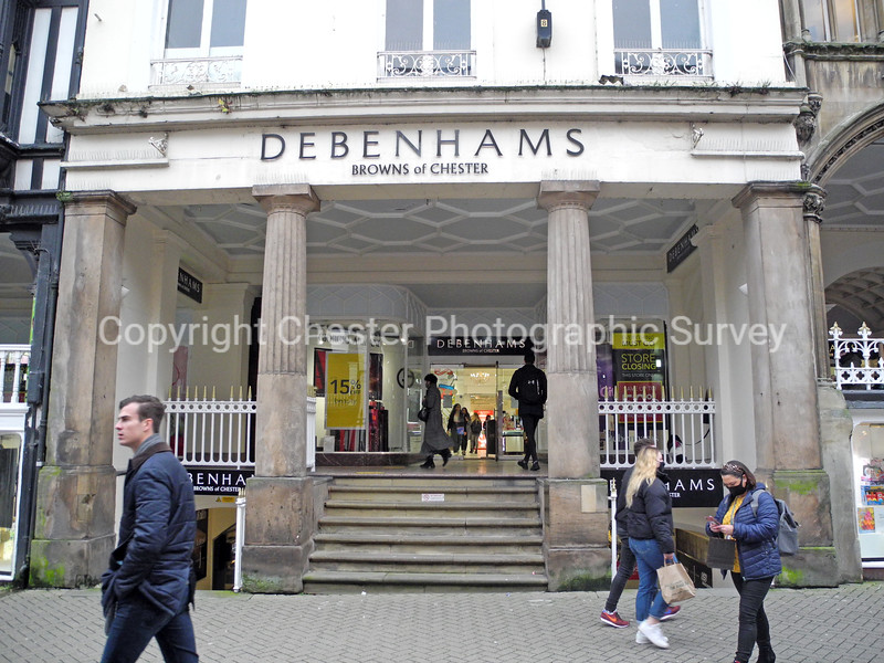 Debenhams 32-34: Eastgate Street and 36: Eastgate Row South