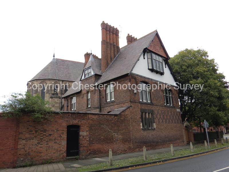 Presbytery of Roman Catholic Church of St Werburgh: Grosvenor Park Road