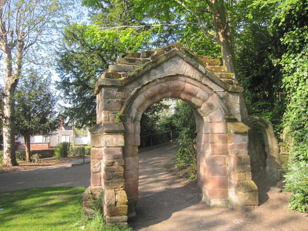 Arch from St Michael's Church: Grosvenor Park