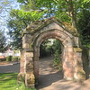 Arch from St Michael's Church: Grosvenor Park