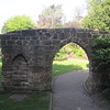 Arch from former St Mary's: Grosvenor Park
