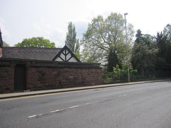 Park Wall: Grosvenor Park Road