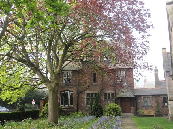 The Presbytery of St Werbergh's Roman Catholic Church: Grosvenor Park Road