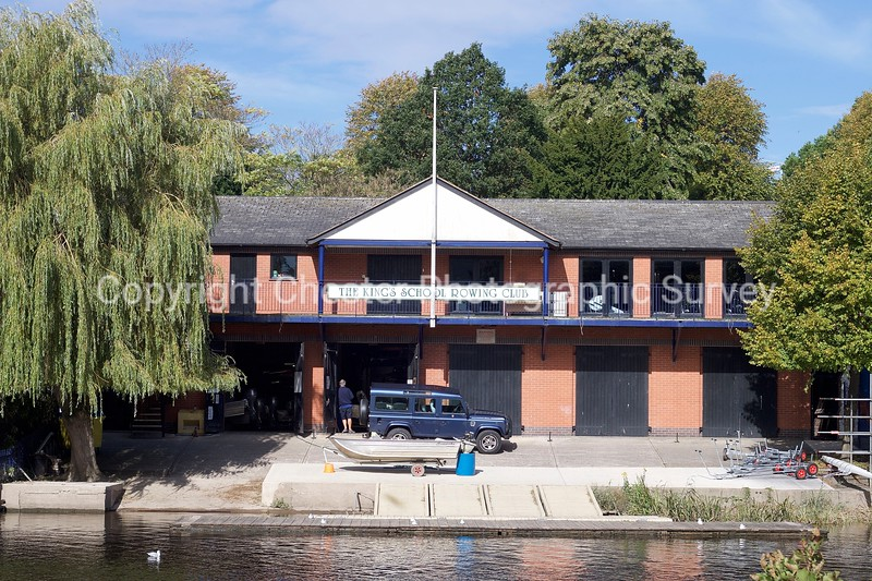 Kings School Rowing Club Boathouse: Grosvenor Park Terrace