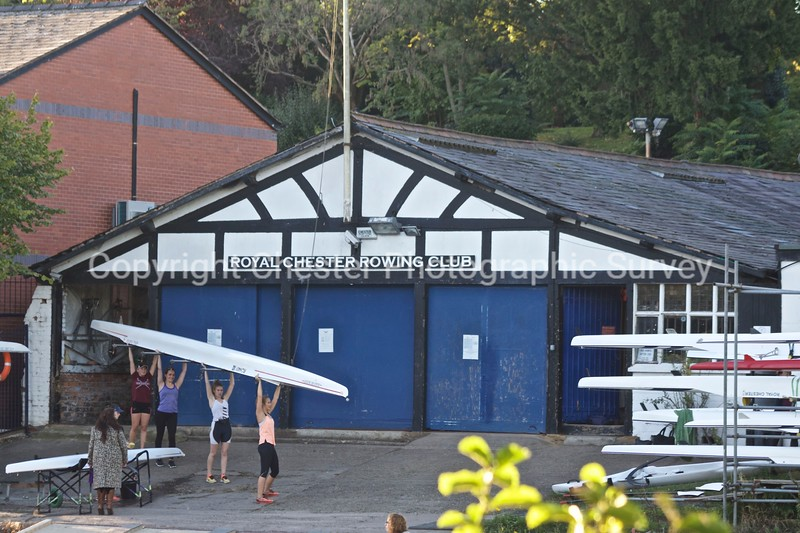 Royal Chester Rowing Club Boathouse: Grosvenor Park Terrace