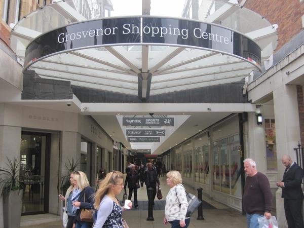 Grosvenor Shopping Centre: Eastgate Street