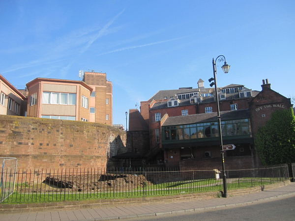 Roman Wall and Off The Wall 12: St John Street