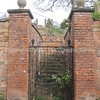 Gated entrance to the Old Palace: The Groves