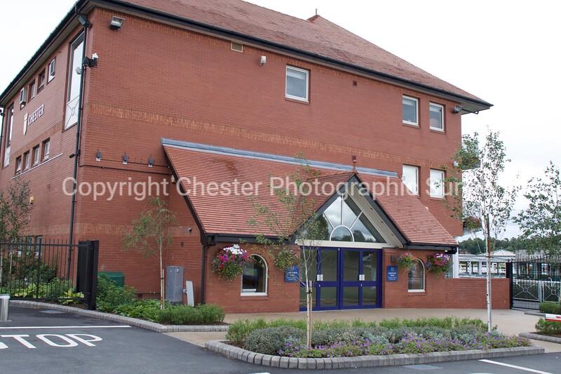Leverhulme Stand: Chester Racecourse: New Crane Street