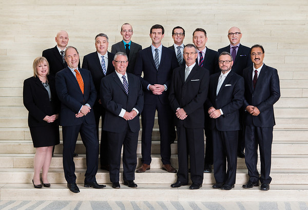 Edmonton's 35th Mayor and 12 City Councillors. October 29, 2013