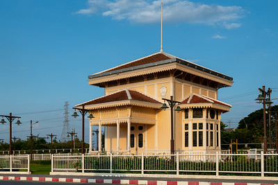Royal Pavilion, Bang Pa-In Railway Station, Ayutthaya