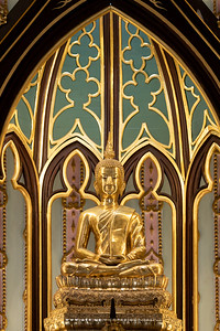 Phra Buddha Narumon Thamopas, Phra Ubosot, Wat Niwet Thammaprawat, Bang Pa-In, Ayutthaya