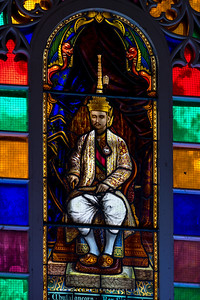 King Rama V,Phra Ubosot, Wat Niwet Thammaprawat, Bang Pa-In, Ayutthaya