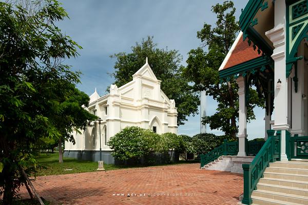 Wat Niwet Thammaprawat, Bang Pa-In, Ayutthaya