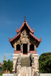 Tripitaka Hall, Wat Phra Singh, Chiang Mai
