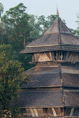 Haw Kham (Golden Pavilion), Mae Fah Luang Art & Culture Foundation (Rai Mae Fah Luang), Chiang Rai