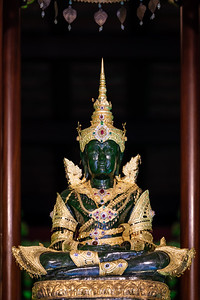 Phra Kaew Marakot (The Emerald Buddha), Wat Phra Kaew, Chiang Rai