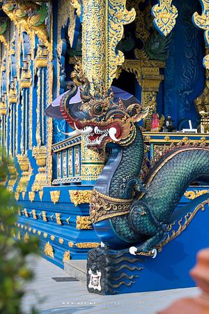 Wat Rong Suea Ten (The Blue Temple), Chiang Rai